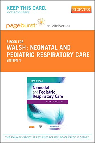 9781455753222: Neonatal and Pediatric Respiratory Care - Elsevier eBook on VitalSource (Retail Access Card), 4e