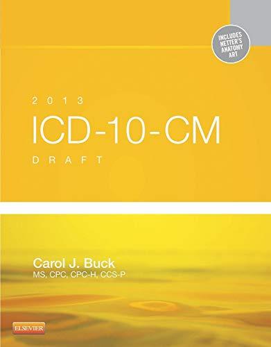 9781455753628: 2013 ICD-10-CM Draft Edition