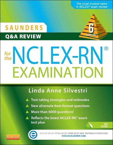 9781455753734: Saunders Q & A Review for the NCLEX-RN® Examination
