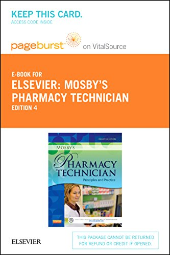 9781455753758: Mosby's Pharmacy Technician - Elsevier eBook on VitalSource (Retail Access Card): Principles and Practice, 4e
