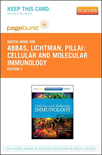 9781455754007: Cellular and Molecular Immunology - Elsevier eBook on VitalSource (Retail Access Card), 7e