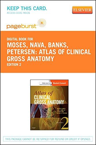 9781455755493: Atlas of Clinical Gross Anatomy - Elsevier eBook on VitalSource (Retail Access Card) (Pageburst (Access Codes))