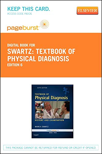 9781455755592: Textbook of Physical Diagnosis - Elsevier eBook on VitalSource (Retail Access Card): History and Examination, 6e