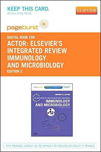 9781455755790: Elsevier's Integrated Review Immunology and Microbiology - Elsevier eBook on VitalSource (Retail Access Card), 2e