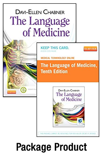 9781455758814: Medical Terminology Online for The Language of Medicine (Access Code and Textbook Package), 10e