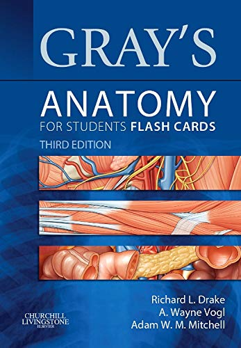 9781455758982: Gray's Anatomy for Students Flash Cards: with STUDENT CONSULT Online Access, 3e