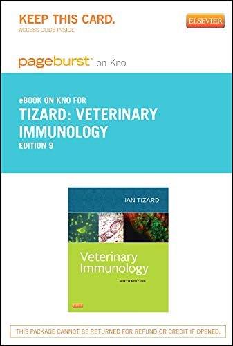 9781455770441: Veterinary Immunology - Elsevier eBook on Intel Education Study (Retail Access Card), 9e