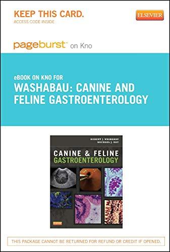9781455770465: Canine and Feline Gastroenterology - Elsevier eBook on Intel Education Study (Retail Access Card)
