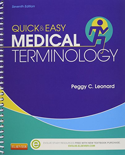 Medical Terminology Online for Quick & Easy: Peggy C. Leonard