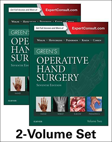9781455774272: Green's Operative Hand Surgery, 2-Volume Set, 7e