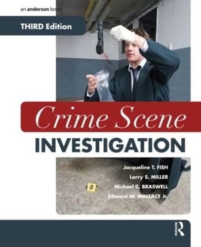 Crime Scene Investigation: Fish, Jacqueline T.