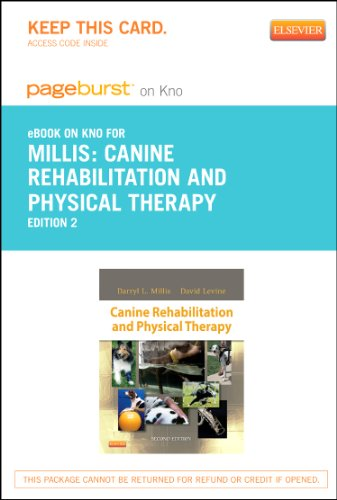 9781455775798: Canine Rehabilitation and Physical Therapy - Elsevier eBook on Intel Education Study (Retail Access Card), 2e