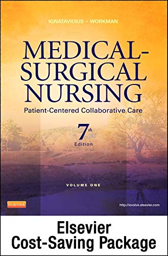 9781455776405: Medical-Surgical Nursing - Two-Volume Text and Clinical Decision Making Study Guide Revised Reprint Package: Patient-Centered Collaborative Care, 7e