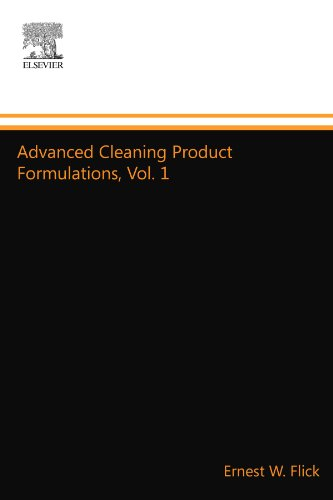 9781455778218: Advanced Cleaning Product Formulations, Vol. 1