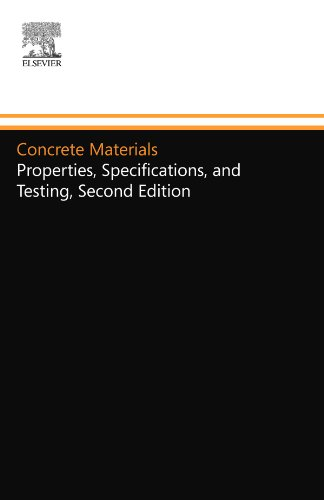 Concrete Materials: Properties, Specifications, and Testing, Second Edition: Sandor Popovics