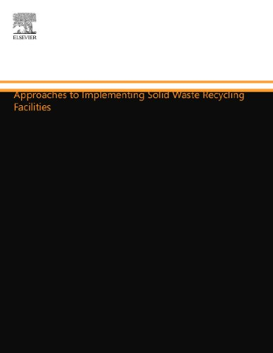 9781455778430: Approaches to Implementing Solid Waste Recycling Facilities