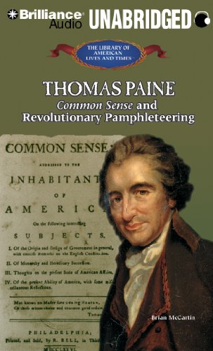 9781455805464: Thomas Paine: Common Sense and Revolutionary Pamphleteering (The Library of American Lives and Times Series)