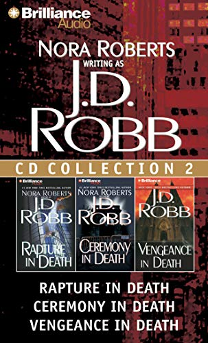 9781455805952: J. D. Robb CD Collection 2: Rapture in Death, Ceremony in Death, Vengeance in Death (In Death Series)