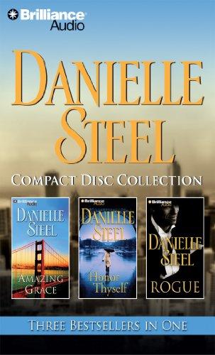 Danielle Steel CD Collection: Amazing Grace, Honor Thyself, Rogue: Danielle Steel