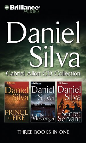 9781455806065: Daniel Silva Gabriel Allon CD Collection: Prince of Fire, The Messenger, The Secret Servant (Gabriel Allon Series)