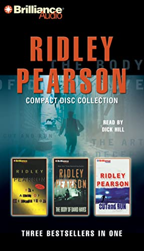 9781455806195: Ridley Pearson CD Collection 2: The Art of Deception, The Body of David Hayes, Cut and Run