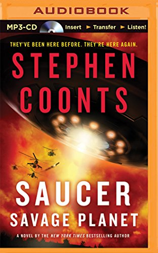 Saucer: Savage Planet (Saucer Series): Coonts, Stephen