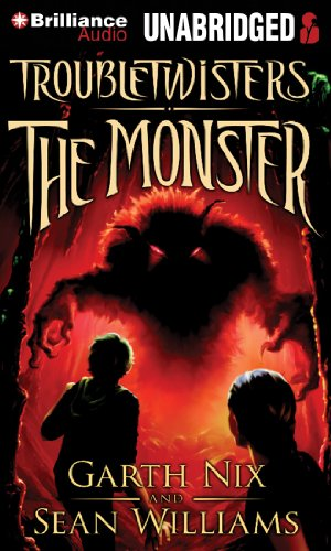 The Monster (Troubletwisters) (1455821276) by Nix, Garth; Williams, Sean