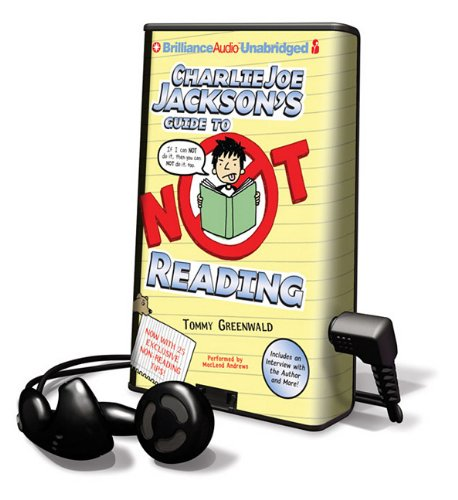 9781455822812: Charlie Joe Jackson's Guide to Not Reading [With Earbuds] (Playaway Children)