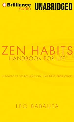 9781455831944: Zen Habits: Handbook for Life