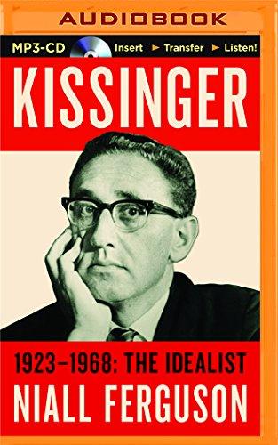 9781455834495: Kissinger: 1923-1968: The Idealist
