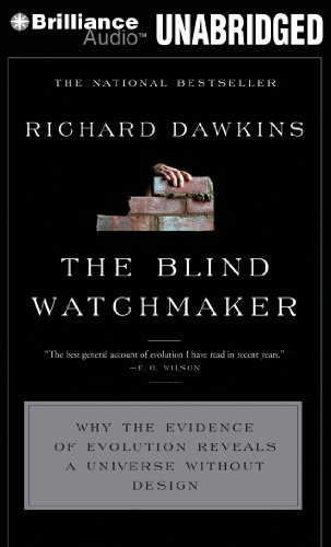 The Blind Watchmaker: Why the Evidence of Evolution Reveals a Universe without Design (1455848158) by Dawkins, Richard