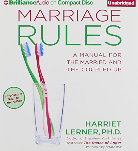 Marriage Rules: A Manual for the Married and the Coupled Up: Lerner Ph.D., Harriet