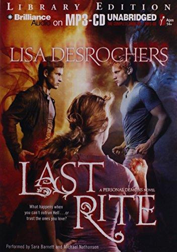 9781455860104: Last Rite (Personal Demons)