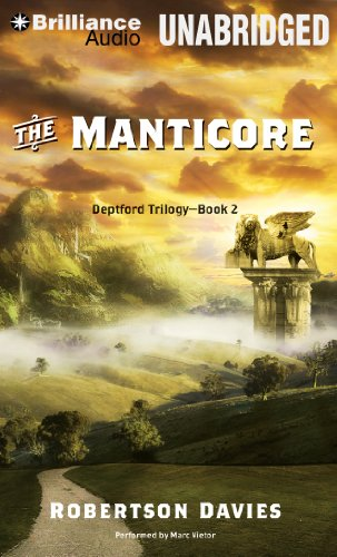 The Manticore (Deptford Trilogy): Robertson Davies