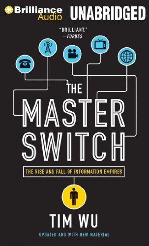 The Master Switch: The Rise and Fall of Information Empires: Wu, Tim