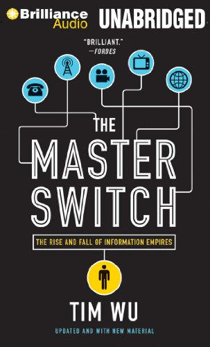 9781455884391: The Master Switch: The Rise and Fall of Information Empires