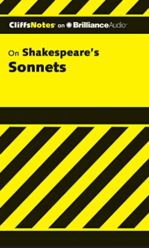 Shakespeare's Sonnets, 1st Edition (Cliffs Notes Series) (1455888001) by Lowers, James K.