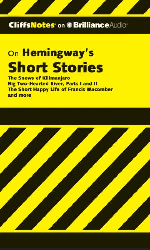 Hemingway's Short Stories (Cliffs Notes Series) (1455889709) by James L. Roberts Ph.D.
