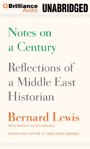 9781455890767: Notes on a Century: Reflections of a Middle East Historian