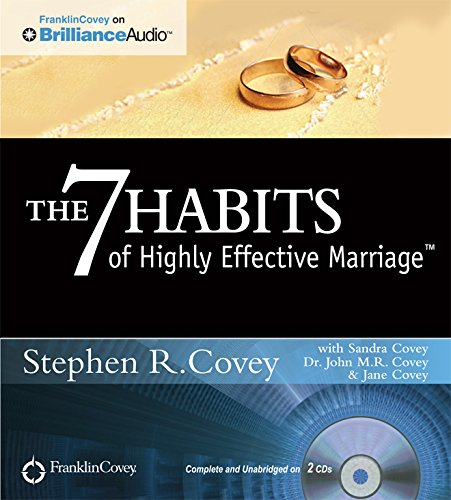 9781455892921: The 7 Habits of Highly Effective Marriage