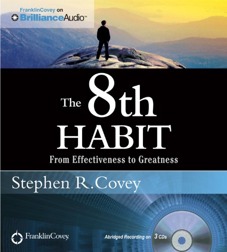 9781455893065: The 8th Habit: From Effectiveness to Greatness