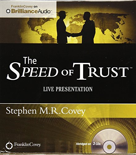 9781455893423: The Speed of Trust - Live Performance