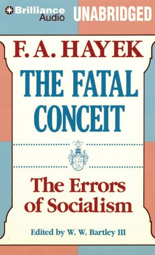 9781455895311: The Fatal Conceit: The Errors of Socialism