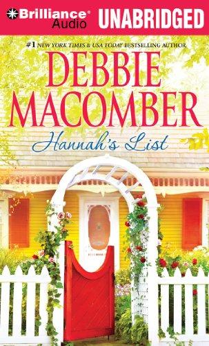 Hannah's List (Blossom Street Series) (1455897574) by Debbie Macomber
