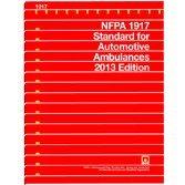 9781455904488: NFPA 1917 - Standard for Automotive Ambulances, 2013 Edition