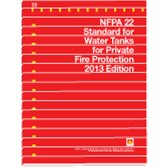 9781455905720: NFPA 22 - Water Tanks for Private Fire Protection, 2013 Edition