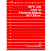 9781455907298: NFPA 1123 - Code for Fireworks Display, 2014 Edition