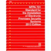 9781455909100: NFPA 731 Standard for the Installation of Electronic Premises Security Systems, 2015 Edition