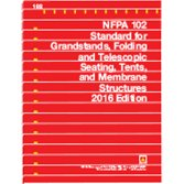 9781455911332: NFPA 102 Standard for Grandstands, Folding and Telescopic Seating, Tents, and Membrane Structures, 2016 Edition