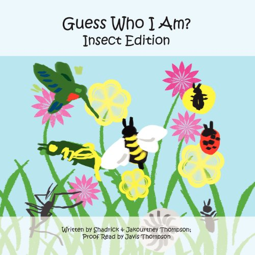 9781456070175: Guess Who I Am?: Insect Edition